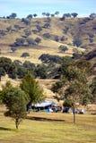 располагаться лагерем Стоковые Изображения RF