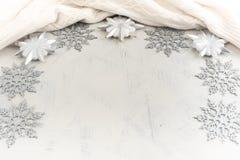 Расположение рождества праздничное декоративных элементов Стоковые Фотографии RF