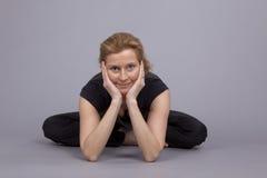 расположите йогу стоковая фотография rf