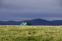 Располагаться лагерем в горах голубого Ridge Стоковые Изображения