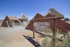 Располагаясь лагерем вход Sesriem, Намибия Стоковая Фотография