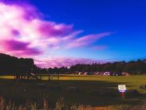 Располагаясь лагерем озера Wykham Стоковые Фото
