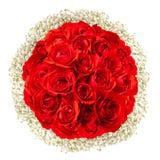 Расположение букета роз Стоковая Фотография RF