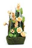Расположение высушенных цветков стоковое изображение rf