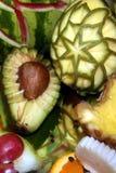 Расположение 13 плодоовощ Стоковые Фотографии RF