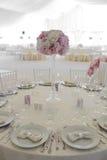 Расположение свадьбы Стоковая Фотография