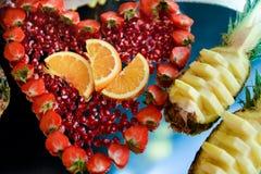 Расположение с плодоовощами Стоковые Фотографии RF