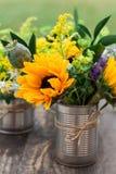 расположение цветка Стоковое Изображение RF
