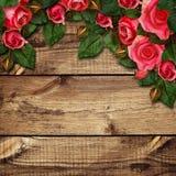 Расположение цветков красной розы Стоковое Изображение