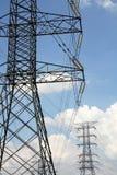Распределение от кабелей - серия 3 энергии решетки Стоковая Фотография