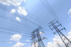 Распределение от кабелей - серия 4 энергии решетки Стоковые Фотографии RF