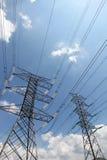Распределение от кабелей - серия 6 энергии решетки Стоковые Изображения RF