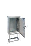 Распределительный ящик металла электрический Стоковые Фотографии RF