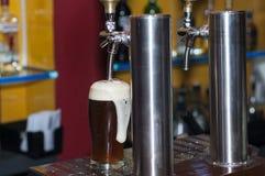 Распределитель пива стоковые изображения rf