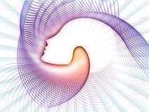 Распространение геометрии души Стоковые Фото