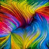 Распространение краски цифров Стоковые Фотографии RF