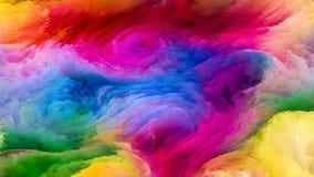 Распространение краски цифров Стоковые Изображения RF