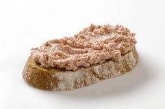 распространение ломтика хлеба Стоковое Изображение RF