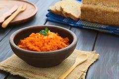 Распространение моркови и болгарского перца Стоковое Изображение RF