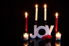Распространите некоторое приветственное восклицание рождества Стоковая Фотография RF