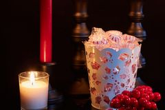 Распространите некоторое приветственное восклицание рождества стоковые фото