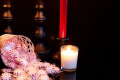 Распространите некоторое приветственное восклицание рождества стоковые изображения