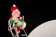 Распространять в глобальном масштабе Санта, концепция стоковые фото