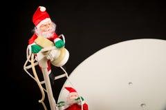 Распространять в глобальном масштабе Санта, концепция стоковые фотографии rf