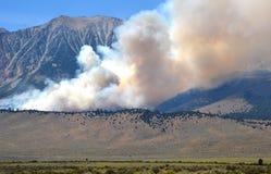 Распространять петли озера в июн лесного пожара Стоковая Фотография RF