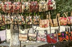 Распродажа воскресенья справедливая рюкзаков сувениров Стоковое Изображение