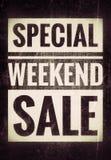Распродажа на выходных Стоковое Изображение