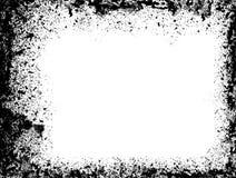 распыленное grunge граници Стоковое Изображение