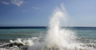 распылите воду Стоковое Изображение