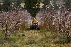 распылять урожая Стоковые Фотографии RF