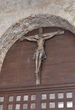 Распятие в базилике Porec Euphrasian, Хорватии Стоковые Фотографии RF