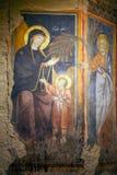Распятие Иисуса, спуск от креста, Сиена, Италия стоковая фотография rf