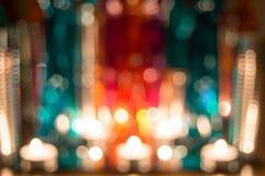 Расплывчатая предпосылка цвета шариков Стоковое Фото
