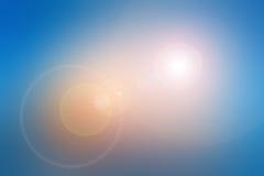 Расплывчатые предпосылки с пирофакелом объектива Стоковые Фото