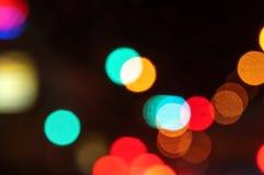 расплывчатый свет Стоковое Изображение
