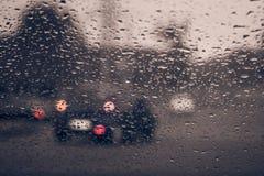 Расплывчатый силуэт автомобиля Стоковые Фотографии RF