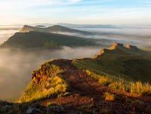 Рассветайте в предгорьях республики Khakassia Стоковое фото RF
