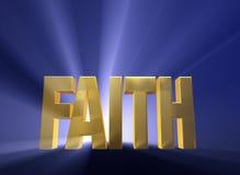 Рассветая вера бесплатная иллюстрация