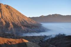 Рассвет в горе Стоковое фото RF