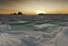Рассвет в севере Стоковые Фотографии RF