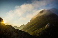 Рассвет горы Стоковое Фото
