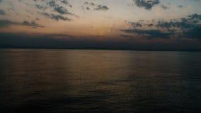 Рассвет Египта Dahab в Красном Море сток-видео