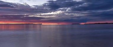 Рассвет залива Jervis Стоковые Фото