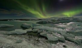 Рассвет Исландии Стоковое Изображение RF