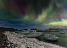 Рассвет Исландии Стоковые Изображения RF