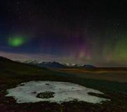 Рассвет Исландии Стоковые Фото